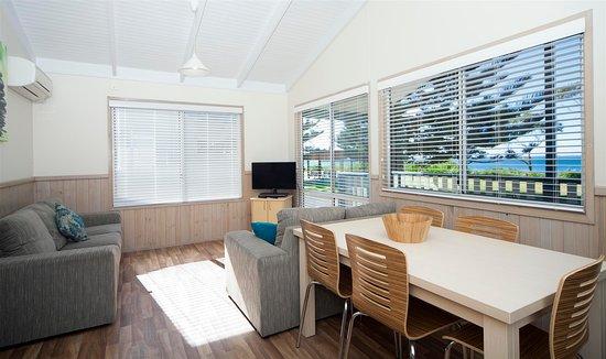 Huskisson, Australia: Seaview Deluxe Cabin Interior