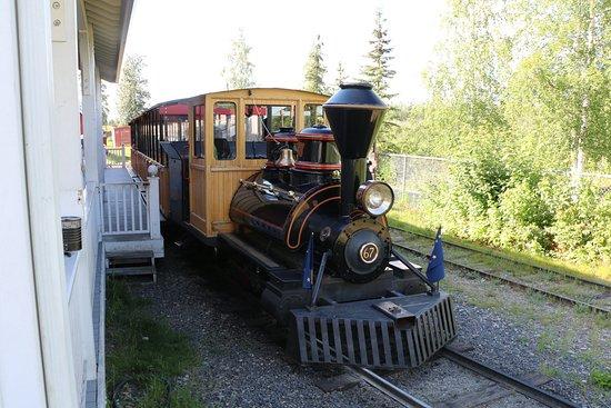 Pioneer Park: Train ride
