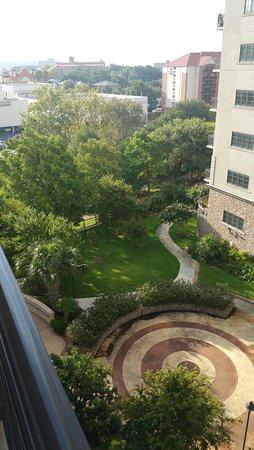 Wyndham La Cascada: view from my balcony