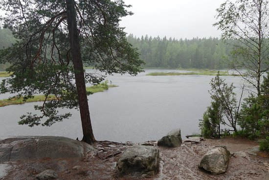 Finlandia meridional, Finlandia: Raining but Beautiful!