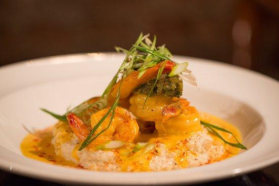 Ballston Spa, NY: shrimp and grits
