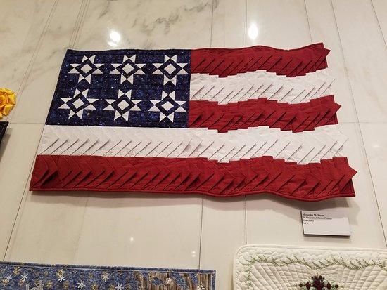 Charleston, Virginia Occidental: Quilt exhibit, sample