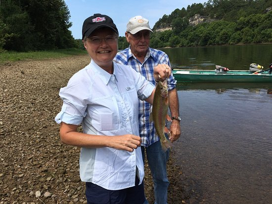 Jordan, AR: Great time fishing with Jenkins service guide, Cobb.   Cobb knew what we needed to fish with and