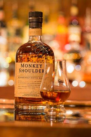 Ballston Spa, NY: dram of monkey shoulder