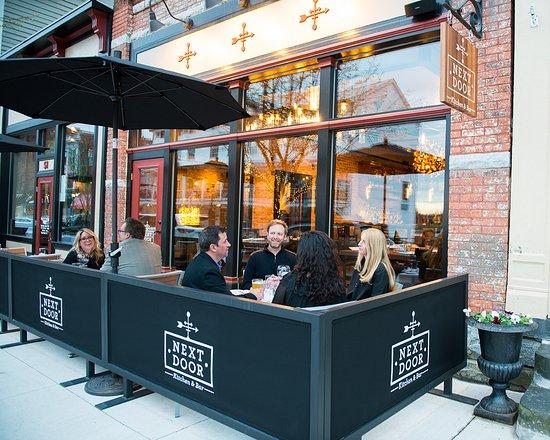 Ballston Spa, estado de Nueva York: outside dining