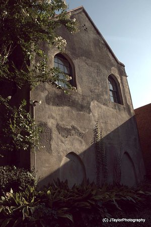 John Rutledge House Inn: Rear of Carriage house