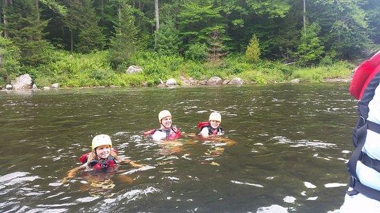 Square Eddy Expeditions: Zwemmen in het rustige deel