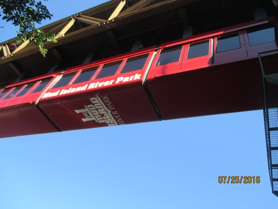 Mississippi River Museum at Mud Island: Tram
