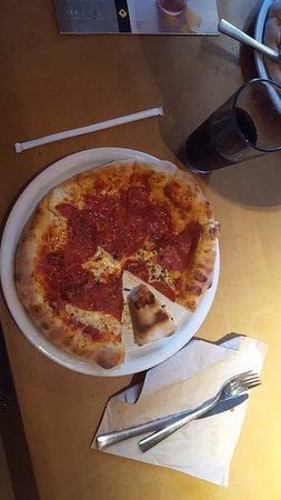Nice Pizzas At A Super Location Picture Of California Pizza Kitchen Boston Tripadvisor