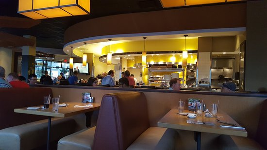 Nice Pizzas At A Super Location Picture Of California Pizza Kitchen Boston Tripadvisor
