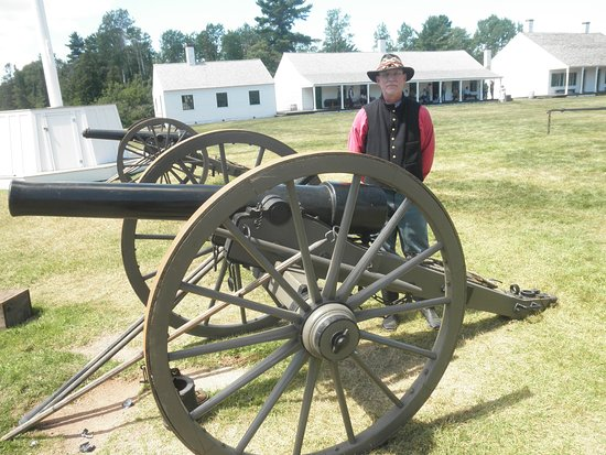 Pre-Civil War Reenactment with Period Artillery - Picture of