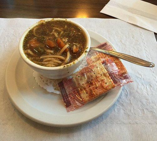 Mile 0 Diner: Oriental Beef Soup