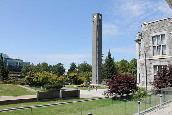 University of British Columbia: Clock tower on UBC campus