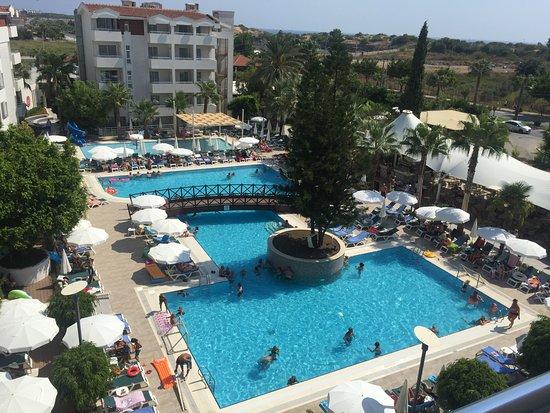 Side Resort Hotel: Vores fantastiske udsigt fra værelset.