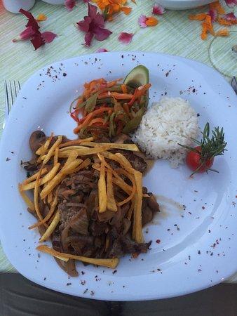 Side Resort Hotel: Lækker aftensmad på La sera.