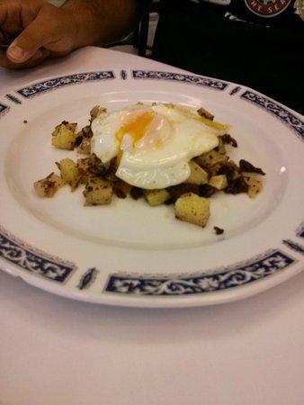 Hotel Maria Luisa: Uno de los platos del menú