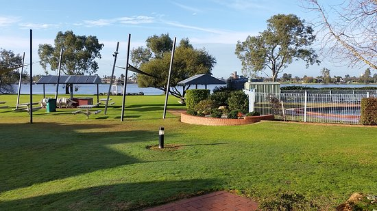 Mulwala, Australien: View from my room