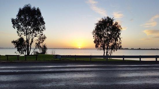 Sunrise from Club Mulwala