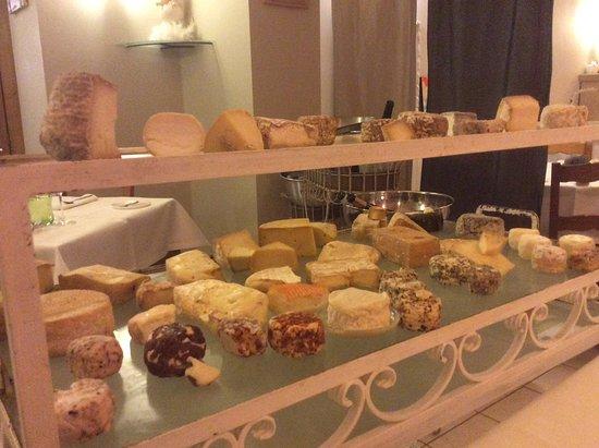 La Gloriette : Plateau fromage