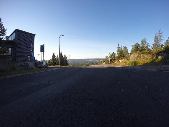 Iso-Syote, Φινλανδία: Anfahrt zum Hotel