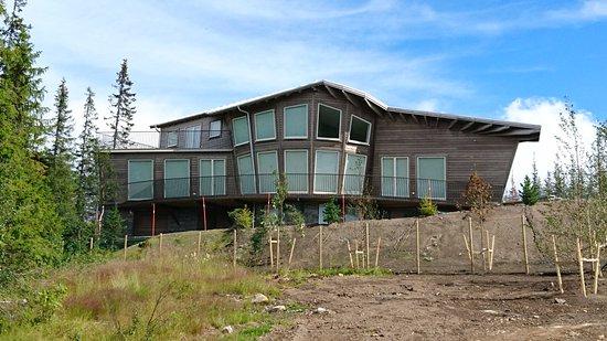 Copperhill Mountain Lodge: En känd persons hus med underbar utsikt
