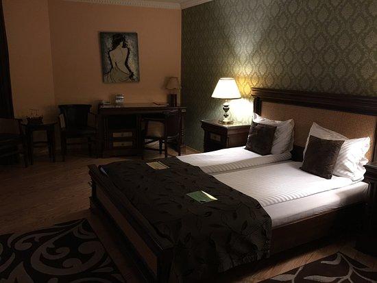 Korona Hotel: our room