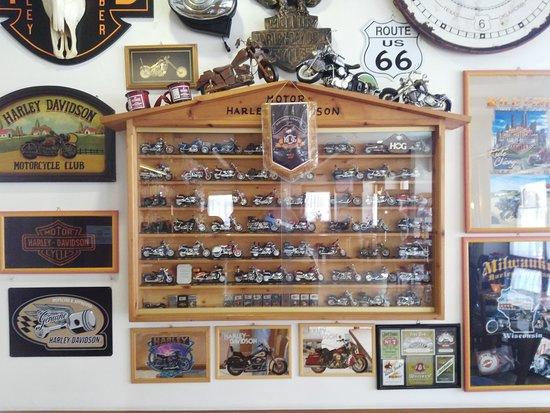 Басельга-ди-Пине, Италия: bar essenzialmente dedicato agli amanti del motociclismo
