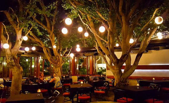 Outdoor Dining Picture Of Spencer S Restaurant Palm