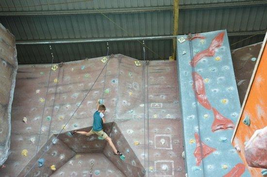 Sabah Indoor Climbing Centre: Скалолазная стенка