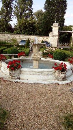 Huismes, Francia: Les jardins