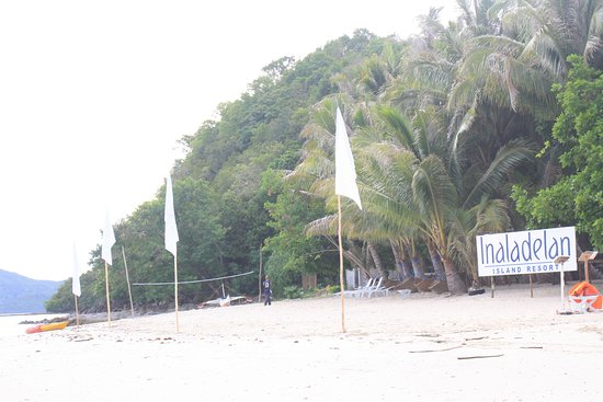 Port Barton, Philippinen: Inaladelan island resort