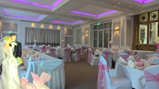 BEST WESTERN Shrubbery Hotel: Wedding Venue