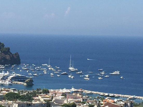 Hotel Villa Sirena: Panorama mozzafiato