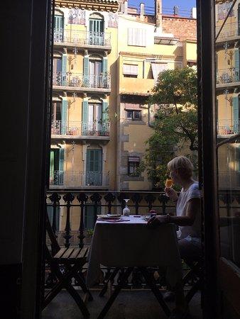 El Balcon del Born: Have breakfast on the balcony