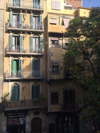 El Balcon del Born: View from the balcony (common area)