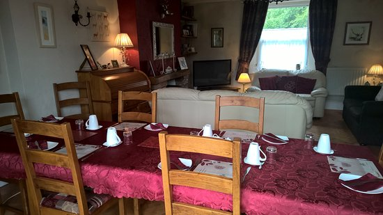 Exmoor Lodge Guest House: Dining Area