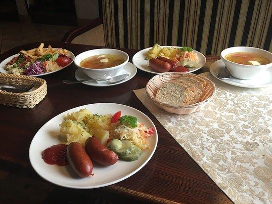 Priekule, Lituania: Good food