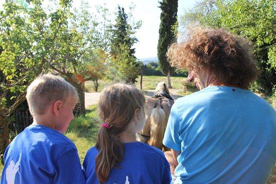 Agriturismo Il Moro: carriage ride
