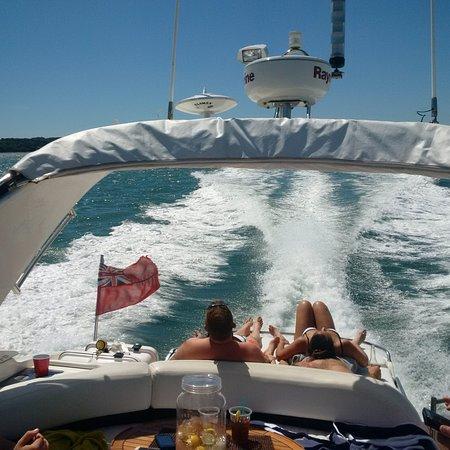 Hythe, UK: comfortable cruise
