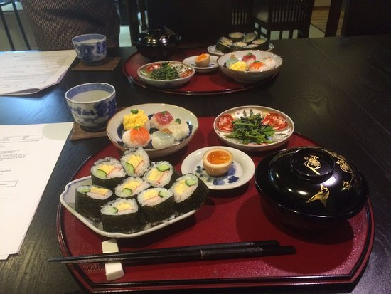 Table setting - Picture of Japanese Cooking Class Roujiya, Kyoto ...