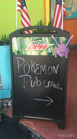 Pokemon Pub Crawl Hernando Beach, FL- R Beach