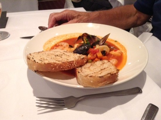 Casa Mia : North Atlantic Fish & Shellfish soup.....Delicious
