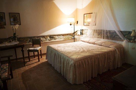 """Vicchio, Italia: Camera da letto appartamento """"Il caminetto"""""""
