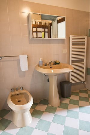 """Vicchio, Italia: bagno appartamento """"Il caminetto"""""""