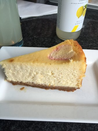 St Mawes, UK: Homemade Baked Cheesecake from Cafe Chandlers