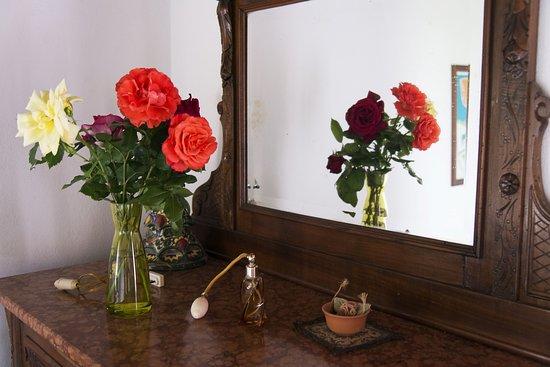"""Vicchio, อิตาลี: Dettaglio camera 1 appartamento """"Le scalette"""""""