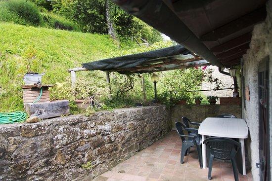 """Vicchio, Italia: Giardino privato appartamento """"Le scalette"""""""
