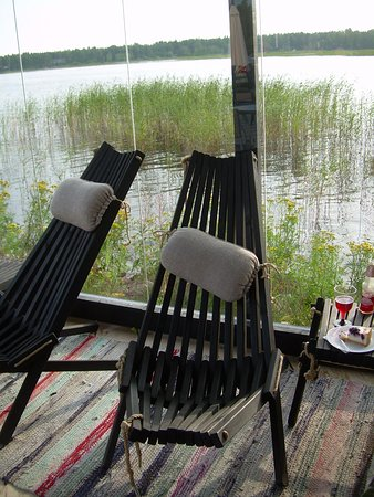 Pyhtaa, Finlande : The chairs were comfortable and suited the atmosphere