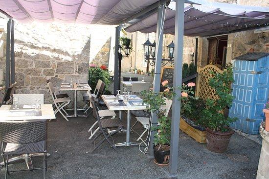 Prayssas, فرنسا: Terrasse
