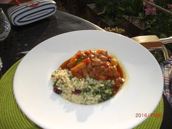 Haimps, France : Lamb tagine (excellent)